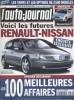 L'auto-journal 2000 N° 538.. L'AUTO-JOURNAL 2000