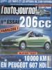 L'auto-journal 2000 N° 554.. L'AUTO-JOURNAL 2000