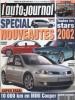 L'auto-journal 2001 N° 581.. L'AUTO-JOURNAL 2001