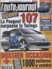 L'auto-journal 2002 N° 591.. L'AUTO-JOURNAL 2002