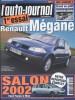 L'auto-journal 2002 N° 604.. L'AUTO-JOURNAL 2002