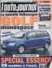 L'auto-journal 2002 N° 608.. L'AUTO-JOURNAL 2002