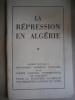 Le répression en Algérie.. ALGERIE