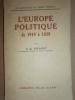 L'Europe politique de 1919 à 1929.. PICAVET C.-G.