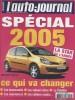L'auto-journal 2005 N° 663. Spécial 2005: Ce qui va changer.. L'AUTO-JOURNAL 2005