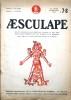 Aesculape : Vitraux de France, Bernard Palissy, Sculptures françaises du XIIe siècle, l'homme aquarium…. AESCULAPE 1953