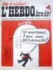 "L'hebdo Hara-Kiri N° 20. Prolongement hebdomadaire du mensuel Hara-Kiri. ""Bête et méchant"". Reiser - Wolinski - Cavanna - Cabu - Delfeil de Ton - ..."