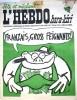 """L'hebdo Hara-Kiri N° 36. Prolongement hebdomadaire du mensuel Hara-Kiri. """"Bête et méchant"""". Reiser, Wolinski, Cavanna, Cabu, Delfeil de Ton, ..."