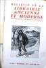 Bulletin de la librairie ancienne et moderne. Année 1975. Du N° 168 au N° 178. Anciennement Bouquiniste français.. BULLETIN DE LA LIBRAIRIE ANCIENNE ...