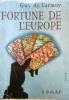 Fortune de l'Europe.. CARMOY Guy de