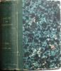 La revue des deux mondes 1861. 31e année, seconde période. René de Courcy, Paul Janet, Emile Montégut, Ivan Tourgueneef, EdgarQuinet, etc. ...