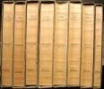 Manuel de l'amateur de livres du XIXe siècle. 1801-1893. 7 volumes de texte + un volume d'index. Réédition en fac-similé de l'édition de 1894-1910.. ...