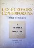 Les écrivains contemporains. N° 63. Série historique : Le dernier corsaire.. LES ECRIVAINS CONTEMPORAINS