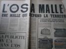 """L'Os à moëlle. Numéro 32, titré """"L'Os à Malle"""". Directeur: Pierre Dac.. L'OS A MOELLE 1964"""