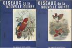 Oiseaux de la Nouvelle-Guinée. Tomes 1 et 2. Le paradis des oiseaux en couleurs (7-8). Vers 1970.. RUTGERS A.