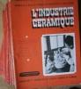 L'industrie céramique. Edition B de la revue des matériaux de construction et l'argile réunies. 30 numéros entre les numéros 405 et 523 (série ...