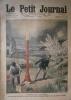 Le Petit journal, Supplément illustré N° 1020 : Canonnade paragrêle à Bagnolet. (Gravure en première page). Gravure en dernière page: Un fils ...