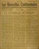 Les nouvelles continentales N° 136. Hebdomadaire d'informations économiques, politiques, et sociales.. LES NOUVELLES CONTINENTALES