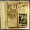 Recherches et inventions. Revue mensuelle. Année 1932 incomplète. 11 numéros sur 12. (208 à 219, sauf 210).. RECHERCHES ET INVENTIONS 1932