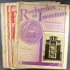 Recherches et inventions. Revue mensuelle. Année 1934 incomplète. 8 numéros sur 12. (232 à 243, sauf 233, 235, 236, 241).. RECHERCHES ET INVENTIONS ...
