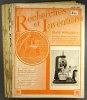 Recherches et inventions. Revue mensuelle. 7 numérox entre 1936 et 1939. Série incomplète de 7 numéros : 257, 258, 259, 263, 266, 277, 279. ...