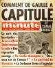 Minute N° 320. Comment De Gaulle a capitulé. Le 13 mai rouge.. MINUTE