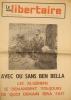 Le Monde libertaire N° 114. Organe de la Fédération anarchiste. Mensuel. Avec ou sans Ben Bella les Algériens se demandent toujours de quoi demain ...