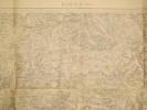 Bar-le-Duc (Verdun). Carte N° 51. Carte au 1/80 000. Relevés de 1838. Révisée en 1911.. BAR-LE-DUC - CARTE