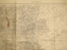 Rocroi (Maubeuge). Carte N° 14. Carte au 1/80 000. Relevés de 1832. Révisée en 1897.. ROCROI - CARTE