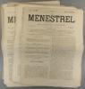 Le Ménestrel. Musique et théâtres. Numéros 893 à 903. 1863-1864.. LE MENESTREL - HEUGEL J.-L. - ORTIGUE J. d'