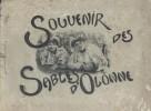 Souvenirs des Sables d'Olonne. 18 photos début Xxe.. SABLES D'OLONNE
