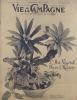 Vie à la campagne numéro 506. Couverture : L'art végétal et le décor de la maison.. VIE A LA CAMPAGNE