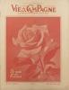 Vie à la campagne numéro 548. Couverture : Le mois des roses.. VIE A LA CAMPAGNE