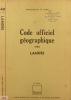 Code officiel géographique des Landes. Deux cartes : évolution 1968-1975 et évolution 1975-1982.. LANDES