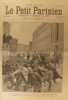Le Petit Parisien - Supplément littéraire illustré N° 162 : Les troubles de Berlin. Gravure à la une. En dernière page - Les Caraïbes au jardin ...