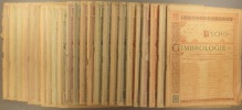 L'Echo de la timbrologie. Année complète 1926. 24 numéros du N° 721 au N° 744. Bimensuel.. L'ECHO DE LA TIMBROLOGIE 1926