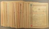 L'Echo de la timbrologie. Année complète 1932. Bimensuel. 24 numéros du N° 865 au N° 888.. L'ECHO DE LA TIMBROLOGIE 1932