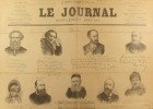 Le journal N° 527. Supplément spécial. Supplément publicitaire de 4 pages qui reprend les déclarations de soixante personnalités en faveur du vin ...