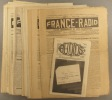 France-Radio 1931-1932. Organe hebdomadaire de radio-vulgarisation. 14 numéros entre le N° 320 ( 19 septembre 1931) et le N° 359 (18 juin 1932). Série ...