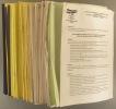 Bulletin du groupement pour la préservation du patrimoine aéronautique. Du N° 5 (1984) au N° 65 (Décembre 1999). 59 bulletins (dont 2 doubles).. AILES ...