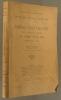 Tables ananlytiques (Texte, gravures, planches) des tomes XVI à XXX (années 1914 à 1928), par Elmile Ernault.. REVUE DES ETUDES ANCIENNES - ERNAULT ...