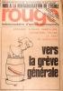 Rouge N° 288. Hebdomadaire d'action communiste. Espagne, vers la grève générale.. ROUGE