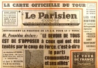 Le Parisien libéré. 25 juin 1968. M. Pompidou déclare.... LE PARISIEN LIBERE