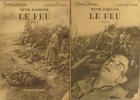 Le feu. (Journal d'une escouade). En 2 fascicules.. BARBUSSE Henri Couverture photographique.