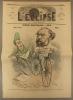 L'éclipse N° 69. Course électorale, par GIll. Couverture illustrée en couleurs : Emille Ollivier et Bancel représentés en vélocipédistes.. L'ECLIPSE