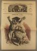 L'éclipse N° 74. Actualité, par Gill. Couverture illustrée en couleurs sur l'exposition canine et féline.. L'ECLIPSE