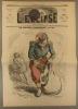 L'éclipse N° 76. Le caporal d'ordinaire, souvenir du camp de Châlons. Couverture illustrée en couleurs par André Gill.. L'ECLIPSE