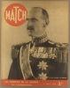 Match N° 95: En couverture le roi Haakon de Norvège. Photos de la guerre en Scandinavie; La môme Piaf est devenue vedette (4 pages); Sur le front ...
