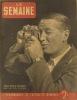 La Semaine N° 30. Maurice Chevalier en couverture. Article sur Jean Despeaux, boxeur…. LA SEMAINE