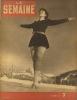 La Semaine N° 67. Les quintuplées Dionne - Le vin de Bourgogne - Nehru - Pétain à la télévision…. LA SEMAINE